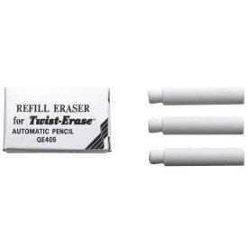 Pentel Twist-Erase viskelæder til pencil 3stk