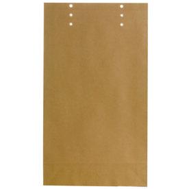 Bong prøvepose 400 x 230 x 50mm, brun