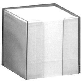 Huskebox med blade, 90 x 90mm, glasklar