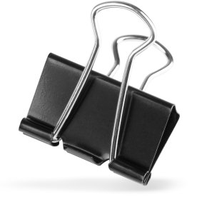 Brevclips foldback, bredde 32mm (12 stk)