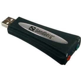 Sandberg USB sound link, ekstern lydkort