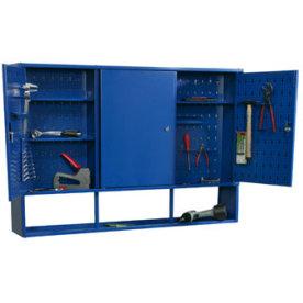 Værktøjsskab model 5, 75x120x20, Blå