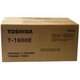 Toshiba T-1600E lasertoner, sort, 10000s