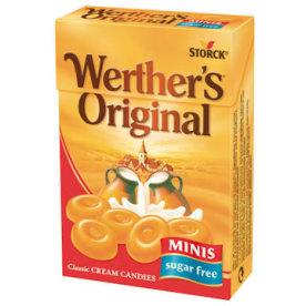 Werther's Original Minis, sukkerfri, 42g