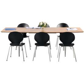 Thor konferencebord 240x110/90, bøg