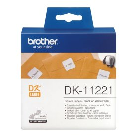 Brother adresse labels. 23 x 23 mm