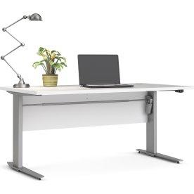Budgetline hæve/sænkebord 150x80, hvid