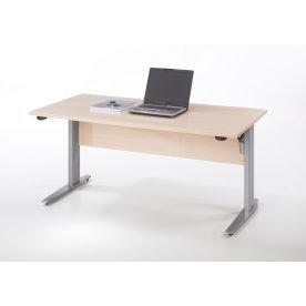 Budgetline hæve/sænkebord 150x80, ahorn