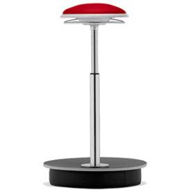 Sitness Deluxe ergo-stol, rød