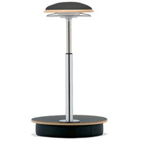 Sitness Deluxe ergo-stol, sort