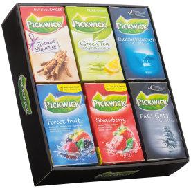 Pickwick te, 6 x 20 breve, 6 forskellige slags
