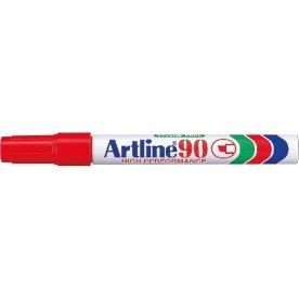 Artline marker 90, 2-5 mm, rød