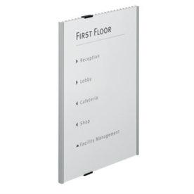 Durable Info Sign dørskilt/mødeskilt, 297 x 420mm