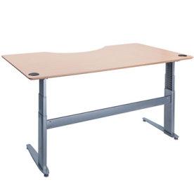 SPEC hæve/sænkebord centerbue 180 cm bøg