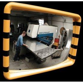 Industrispejl firkantet 40x60 cm, Akryl, inde