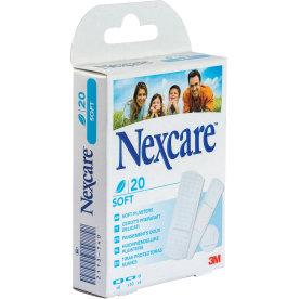 3M Nexcare Soft plaster 20 stk. ass.