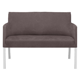 Florence 2 pers. sofa grå