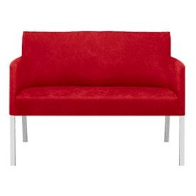 Florence sofa 2 pers. rødt læder