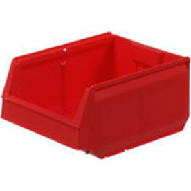 Arca systembox, (LxBxH) 300x115x100 mm, 2,4 L,Rød