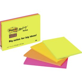 Post-it Super Sticky Notes, 149 x 98 mm