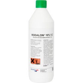 Rodalon 10% rengøring, overfladedesinfektion, 1l.