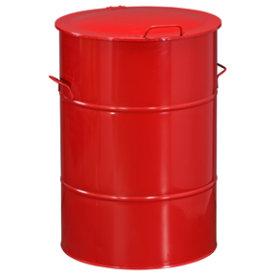 Circle affaldsbeholder 160 l, Rød
