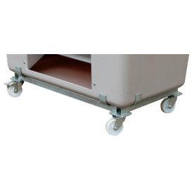Hjulsæt til salt-/sandbeholder 2200 liter,Galvanis