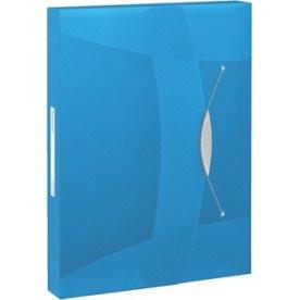 Esselte Vivida arkivæske, 40mm, blå