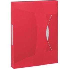 Esselte Vivida arkivæske, 40mm, rød