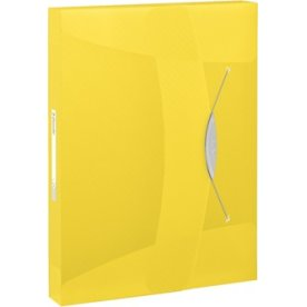 Esselte Vivida arkivæske, 40mm, gul