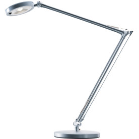 4you LED bordlampe sølvfarvet