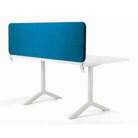 Softline bordskærmvæg blå B1600xH590 mm