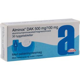 Alminox DAK Tyggetabletter, 30 stk.