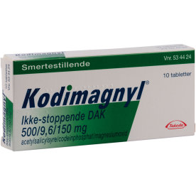 Kodimagnyl Tabletter, ikke stoppende, 10 stk.