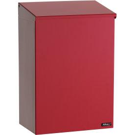 Allux 100 Postkasse, rød