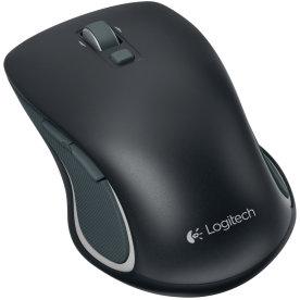 Logitech M560 Lasermus, sort