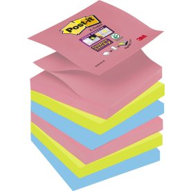 Post-it Super Sticky Z-Notes 76 x 76mm, Bora Bora