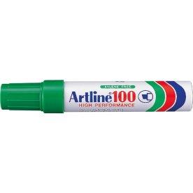 Artline EK100 permanent marker, grøn
