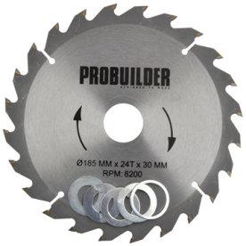 Probuilder klinge, 185x30x2,8 mm t24