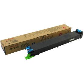 Sharp MX31GTCA lasertoner, blå, 15000s