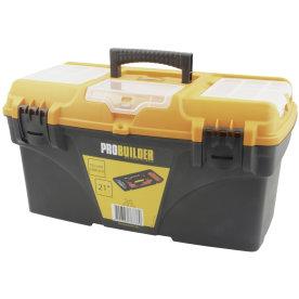 """Probuilder værktøjskasse m/ organizer, 21"""""""