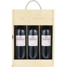 Piemondo Piemonte Rosso rødvin, 3 fl. i trækasse