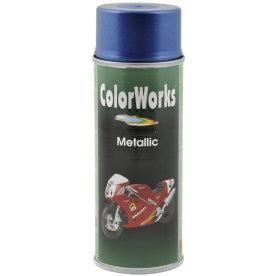 ColorWorks hobbyspray, metallic blå