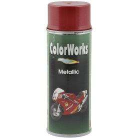 ColorWorks hobbyspray, metallic rød