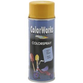 ColorWorks hobbyspray, guldgul