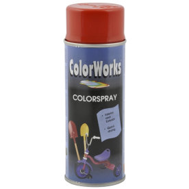 ColorWorks hobbyspray, blodorange