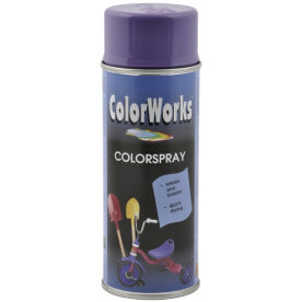 ColorWorks hobbyspray, lilla