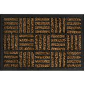 Dørmåtte, kokos/gummi, 40 x 60 cm