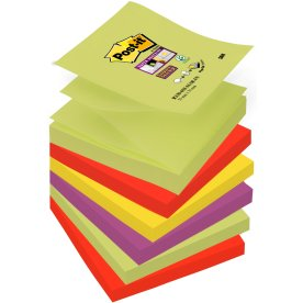 Post-it Super Sticky Z-Notes 76 x76mm, Marrakesh