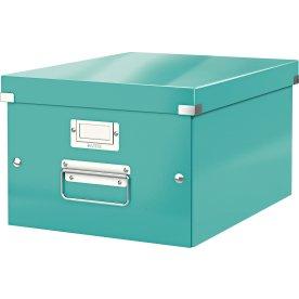 Leitz Click & Store opbevaringsboks medium, isblå